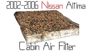 nissan altima 2016 cabin air filter lighting auto fix pal