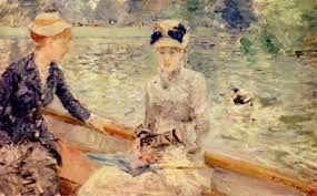 Berthe Morisot In The Dining Room by 50 Impressionist Paintings The Impressionism Seen Through 50 Works