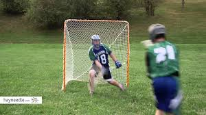 ez goal folding lacrosse goal product review video youtube