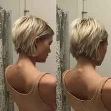 front and back views of chopped hair 20 hot and chic celebrity short hairstyles short blonde blondes