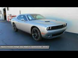 chrysler dodge jeep ram lawrenceville 2018 dodge challenger lawrenceville ga l823019