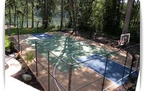 Backyard Tennis Court Cost Building A Pickleball Court Tennis Court Construction Backyard