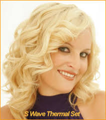 ththermal rods hairstyle technique for creating soft curls