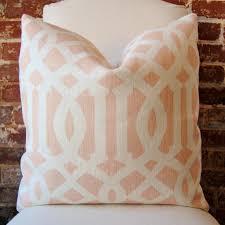 imperial trellis pillow a classic trellis print in color