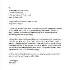 character letter sample best business template