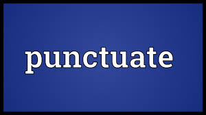 quote punctuation meaning punctuate meaning youtube
