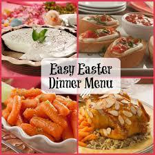 id cuisine simple easy easter dinner menu mrfood com