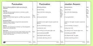 spag punctuation secondary resources english spag page 1
