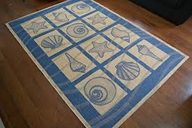nautical and coastal rugs amazon com