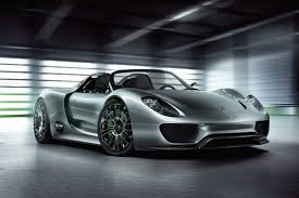 first porsche car porsche 918 spyder taking the world u0027s first plug in hybrid