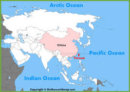 Map Of Sw Asia by Taiwan Maps Maps Of Taiwan Republic Of China