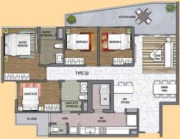 4 bedroom floor plan one canberra ec floor plan singapore hdb ec new ec launch