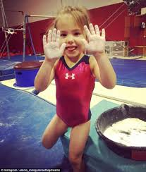 jos daily three year gymnastics prodigy wows on the bar