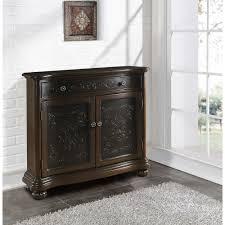 martin 3 door console by ballard designs havenly brown cabinet