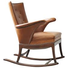 Famous Chair Designs Leather Rocking Chair Modern Chairs Quality Interior 2017