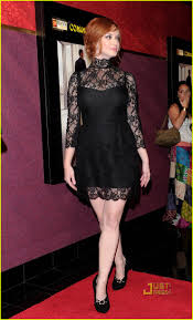 christina hendricks mad men premiere party photo 2468000