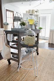 Island Cart Kitchen Farmhouse Kitchen Island Cart