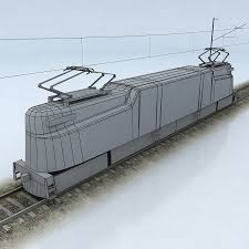 Gg1 Locomotive Interior Pennsylvania Gg1 3d Asset Cgtrader