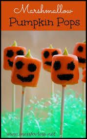 food fun friday our favorite halloween treat pumpkin pops