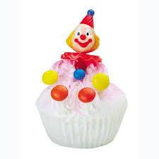 small derby clowns topper set wilton