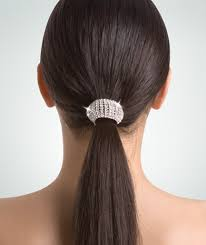 ponytail holder wrappers rhinestone ponytail holder