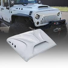 jeep hood vents beast series fiber glass hood