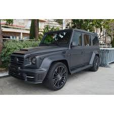 mansory gronos replica kit for mercedes g class g500 w463 top