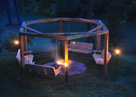 Firepit Swing Porch Swing Pit 12 Steps With Pictures