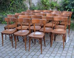 chaises thonet lot de 23 chaises de bistrot thonet