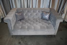 silver tufted sofa leyton furniture u2013 celebrations party rentals