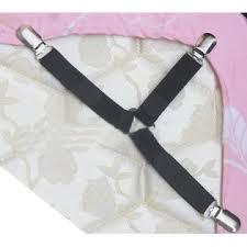 adjustable bed linens battmate set of 4 3 way adjustable bed sheet straps corner holder