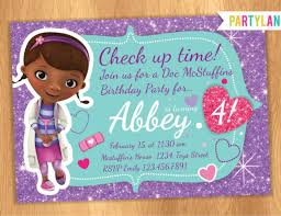 doc mcstuffins birthday party doc mcstuffins party invitations doc mcstuffins party invitations