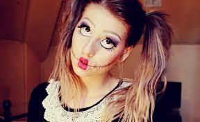Cute Halloween Makeup Ideas by Doll Face Makeup Face Makeup Ideas