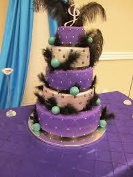 wedding cake purple and teal cupcake cake purple and teal very
