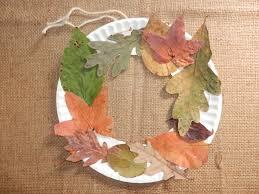 fall craft for kids u2013 make your own leaf wreath