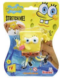 spongebob stretch figurine sponge bob simba toys spongebob
