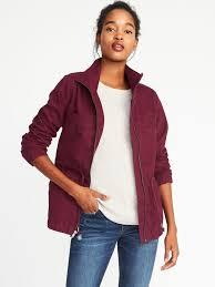 twill field jacket for women old navy