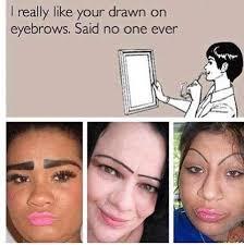 Bushy Eyebrows Meme - list of synonyms and antonyms of the word eyebrow jokes