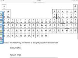 Most Reactive Metals On The Periodic Table The Periodic Table U0026 Properties Of The Elements Studyblue