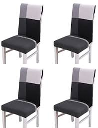 housses pour chaises housse de chaise pour chaises de salle à manger 4 pièces moderne