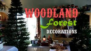 woodland adventure themed party decoration ideas youtube