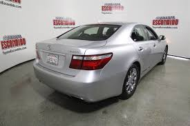 lexus vehicle stability control pre owned 2007 lexus ls 460 4dr car in escondido 75048735