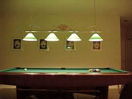 interesting pool table light fixture all home decorations