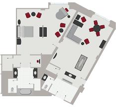 Palazzo Floor Plan Lago Suite Las Vegas Suites The Palazzo Las Vegas