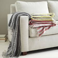 Throws For Sofa by Printed Woven Throws West Elm