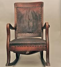 Mission Oak Rocking Chair Rocking Chair Design Antique Oak Rocking Chair Unique High Back