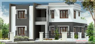 house plan designs wide flat roof 3 bedroom home design kerala house plans de momchuri