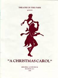 playbill gallery a christmas carol 40th anniversary