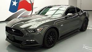 mustang 6 speed buy used and save 2016 ford mustang gt premium 6 speed