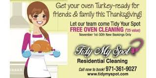 get your oven turkey ready for thanksgiving tidy my spot llc